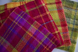 warm towels zinnia red gold leaf