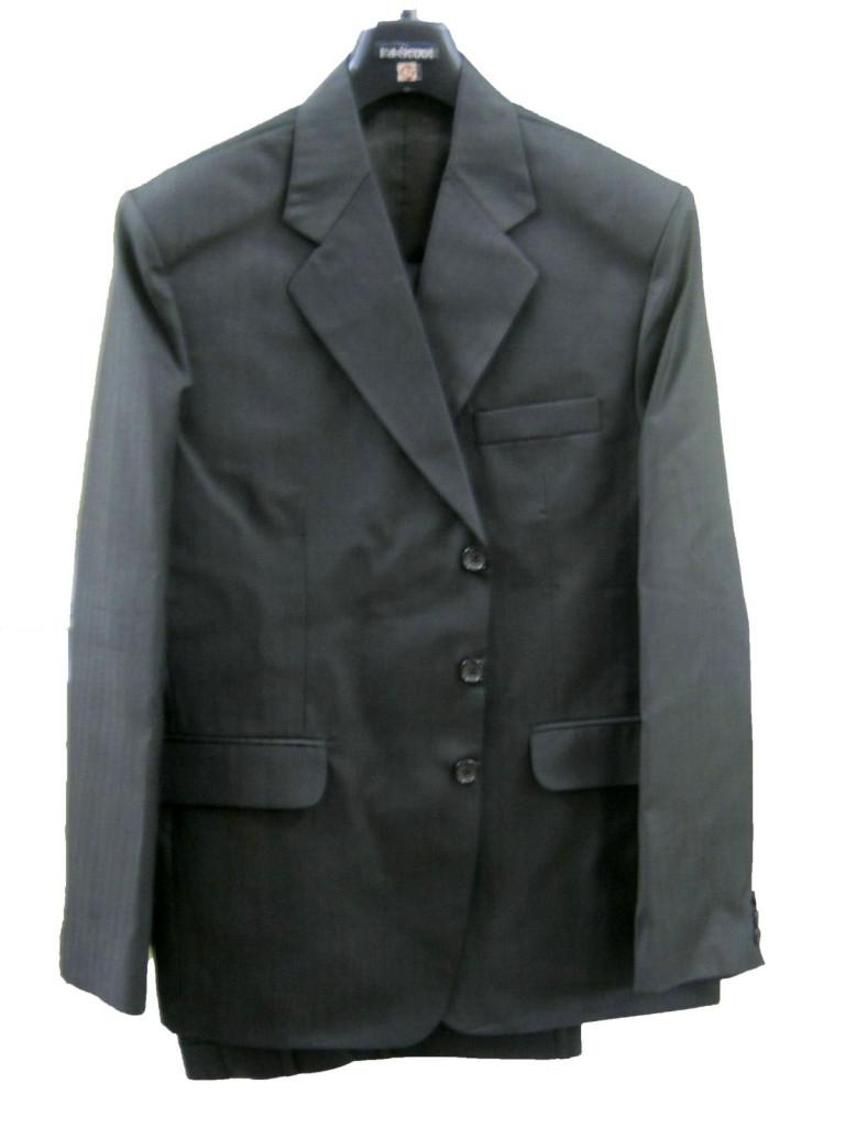 Темно-серый в толстую полосу (1)